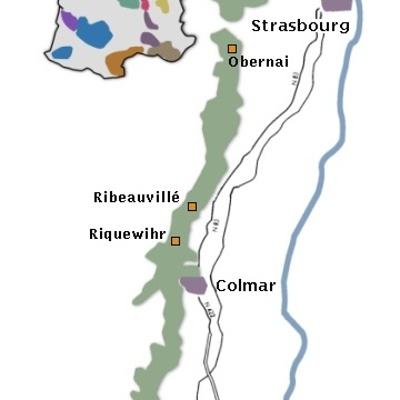 Le vignoble d''Alsace