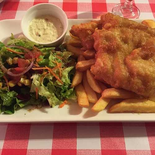 Le fish and chips 0