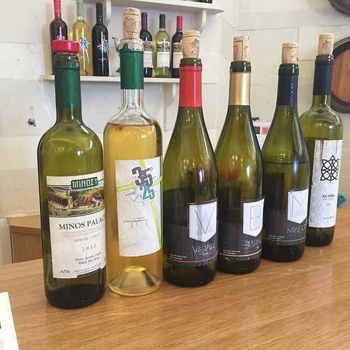 Dégustations de vins Crétois 0