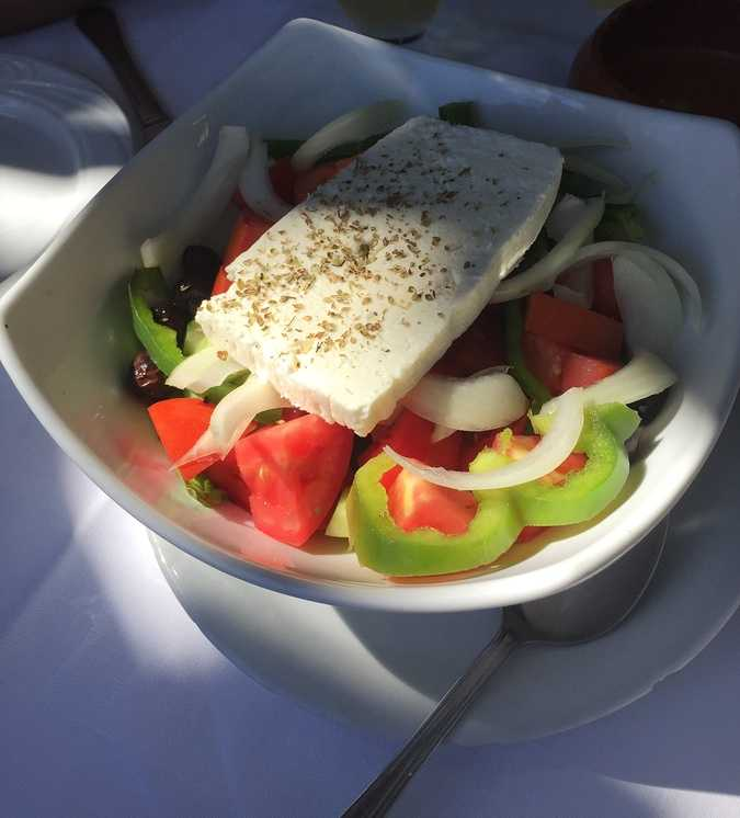 les salades mediterraneennes