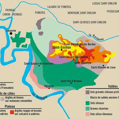 Le vignoble de Saint-Emilion 0