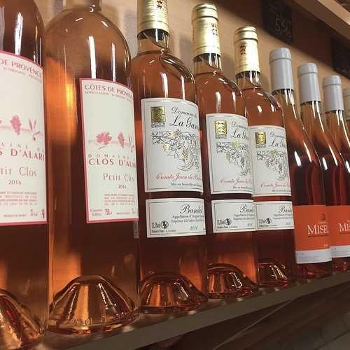 Le vin rosé. 0