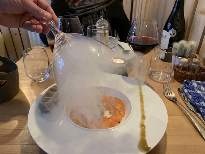 le gravlax de saumon et son vin