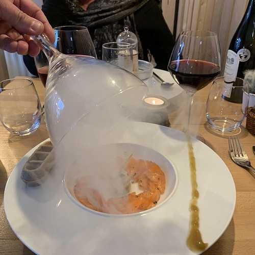 Le gravlax de saumon et son vin 0