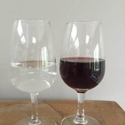 L''eau et le vin