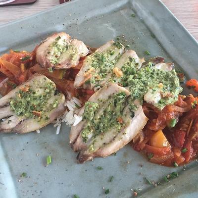 Filets de sardines sauce à l''oseille