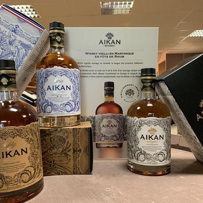 La Gamme de Whisky Aikan