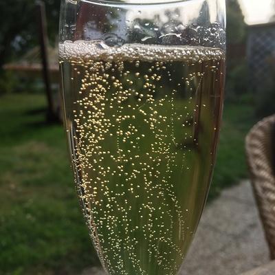 Les bulles de champagne