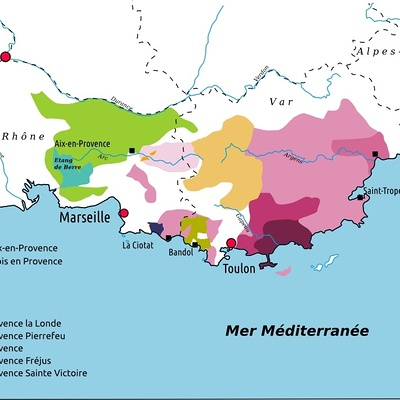 Le vignoble de Provence
