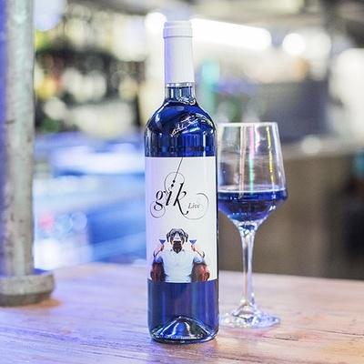 Le vin bleu