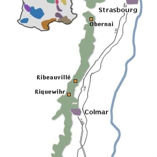 Le vignoble d''Alsace 0