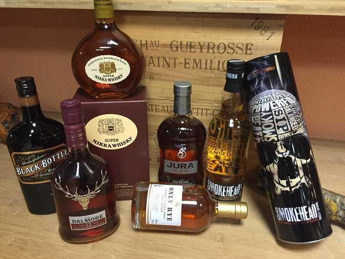 le whisky et ses aromes